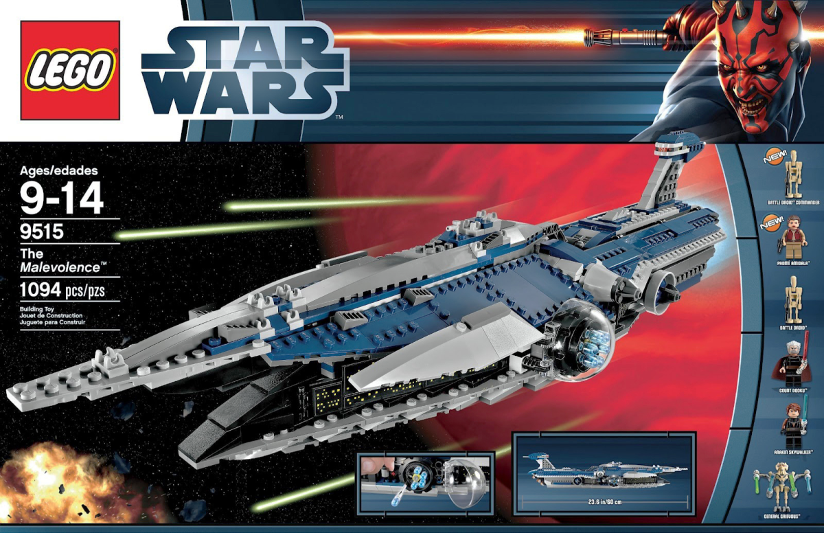 LEGO Star Wars Malevolence 9515 Box