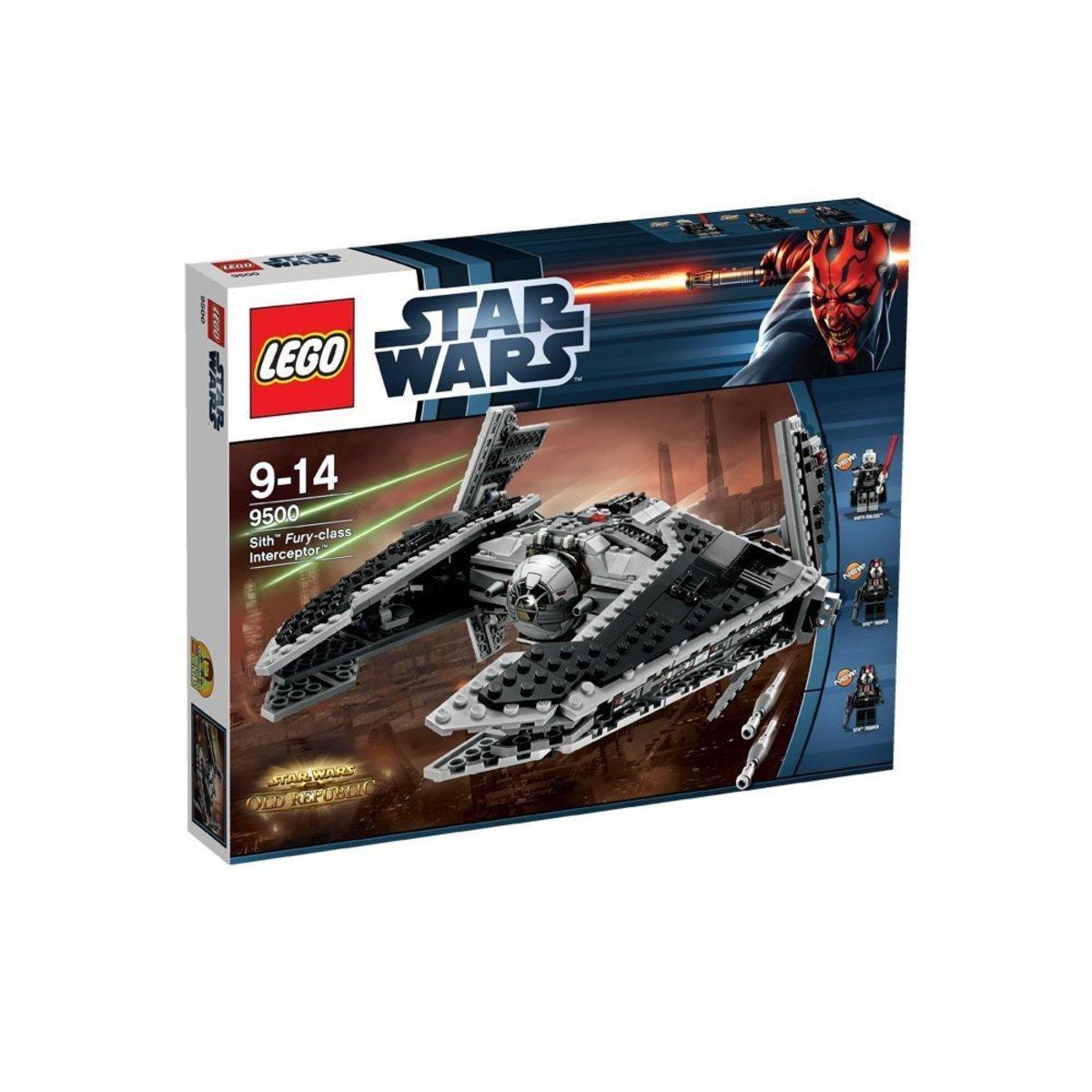 LEGO Star Wars Sith Fury-Class Interceptor 9500 Box