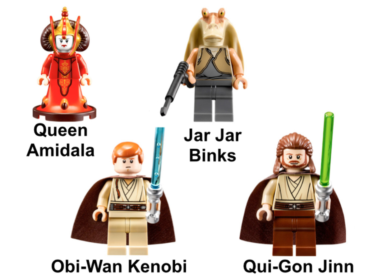 LEGO Star Wars Gungan Sub 9499 Minifigures
