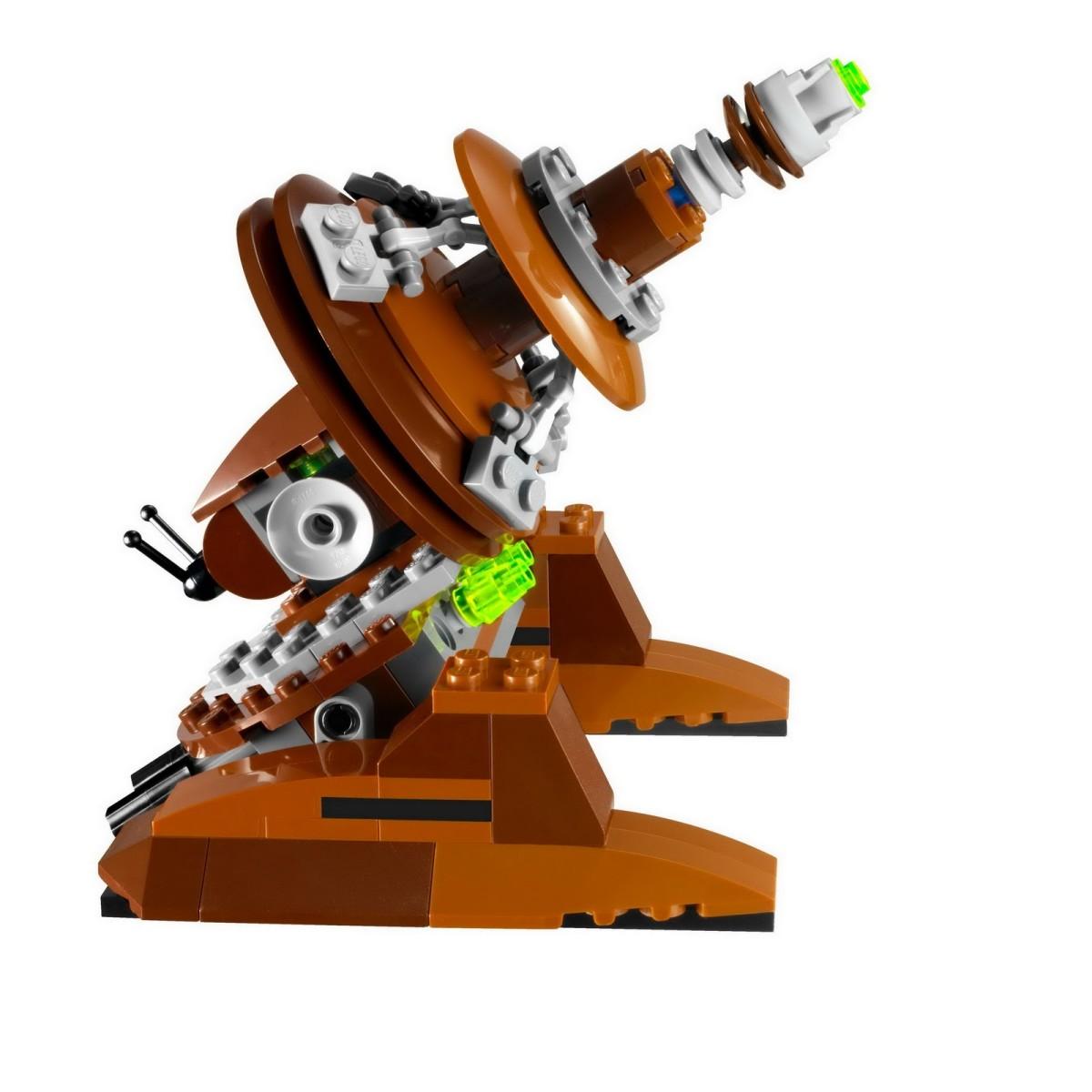 LEGO Star Wars Geonosian Cannon 9491 Assembled