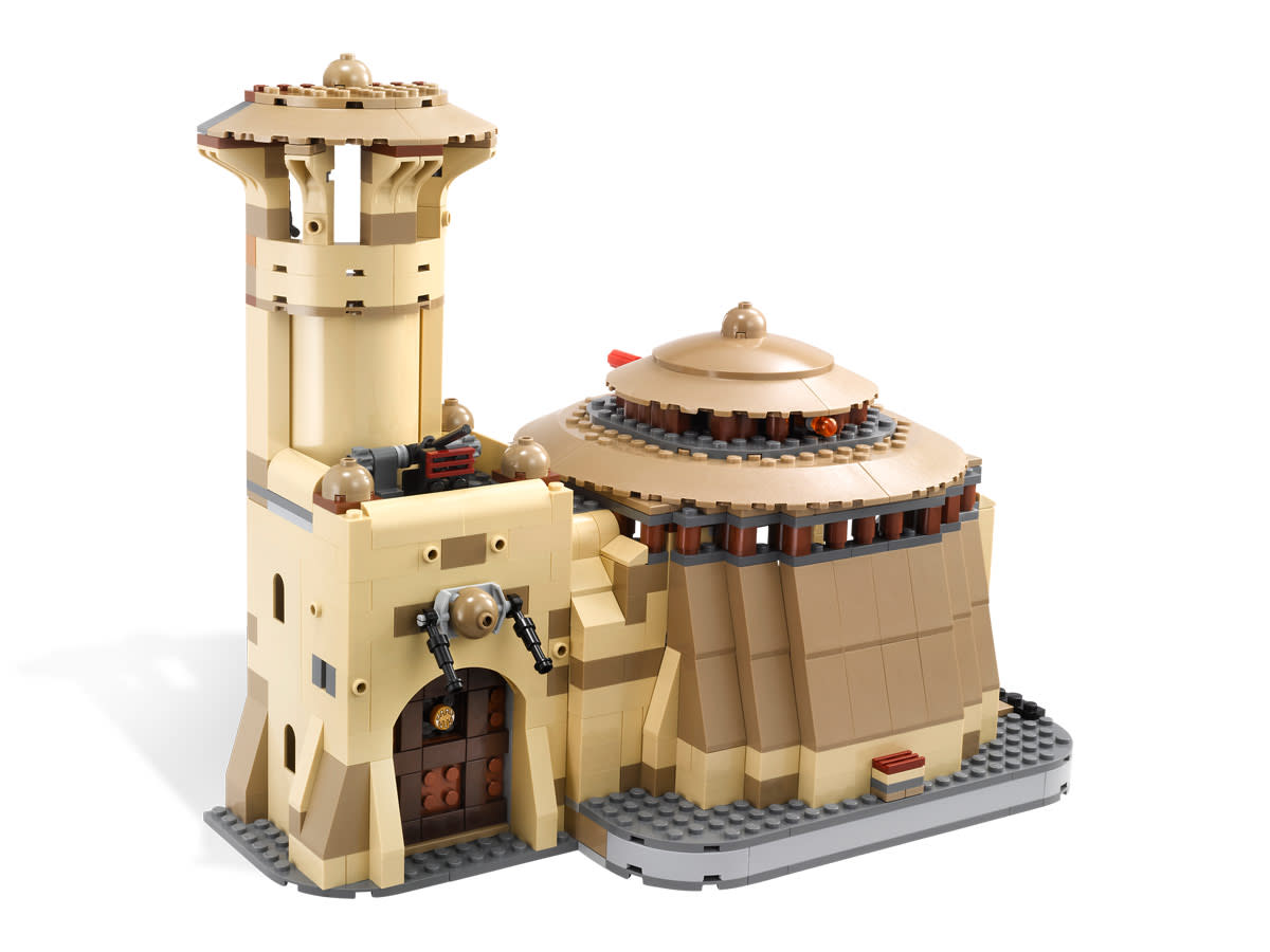 LEGO Star Wars Jabba's Palace 9516 Assembled