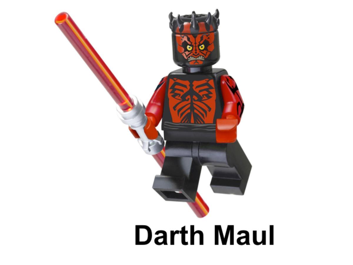 LEGO Darth Maul Minifigure 5005188