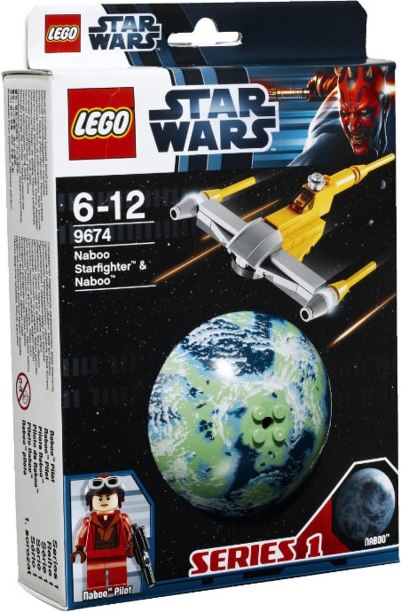 LEGO Star Wars Naboo Starfighter & Naboo 9674 Box
