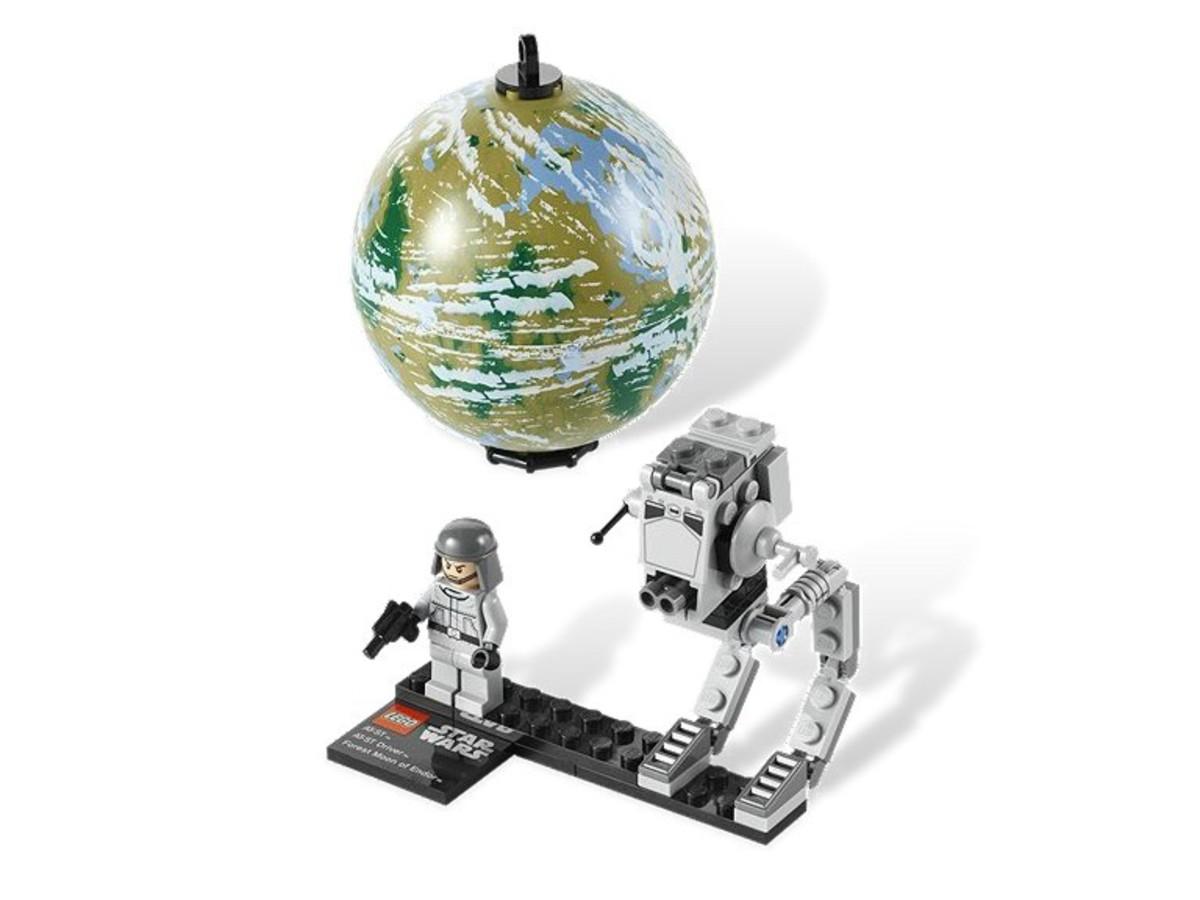 LEGO Star Wars AT-ST & Endor 9679 Assembled