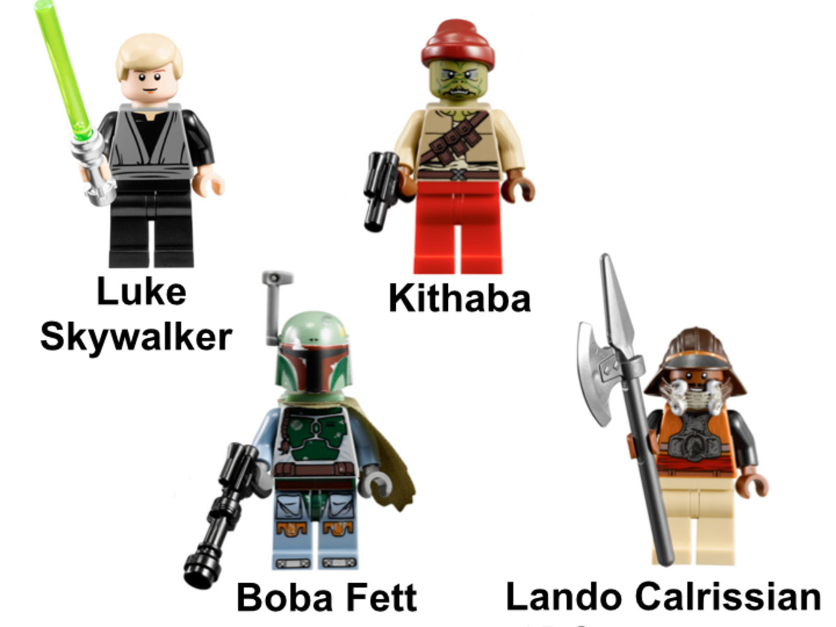 LEGO Star Wars Desert Skiff 9496 Minifigures