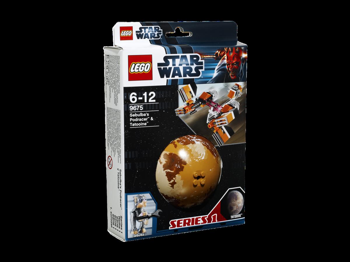 LEGO Star Wars Sebulba's Podracer & Tatooine 9675 Box