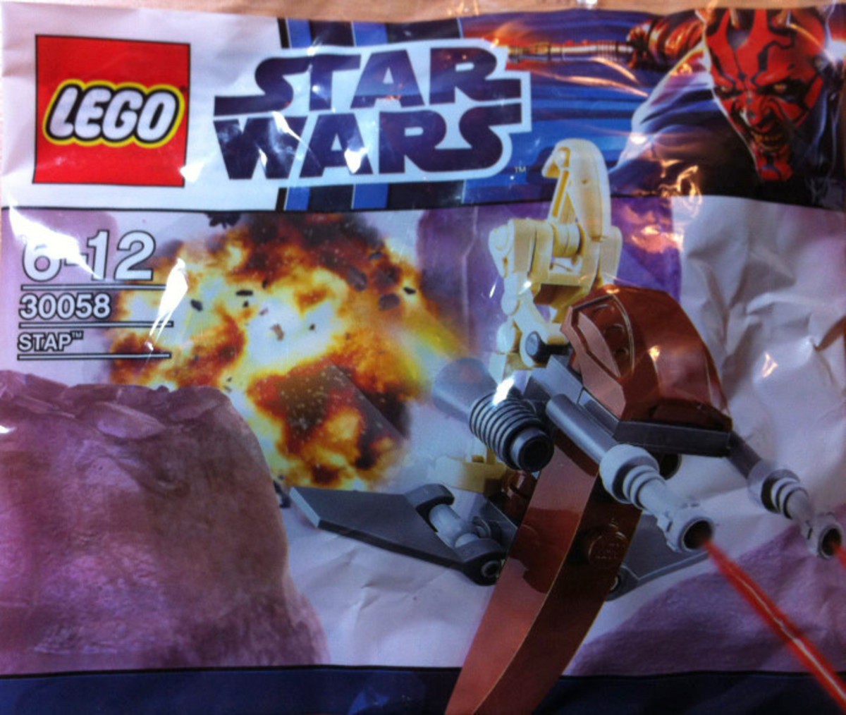 LEGO Star Wars STAP 30058 Bag