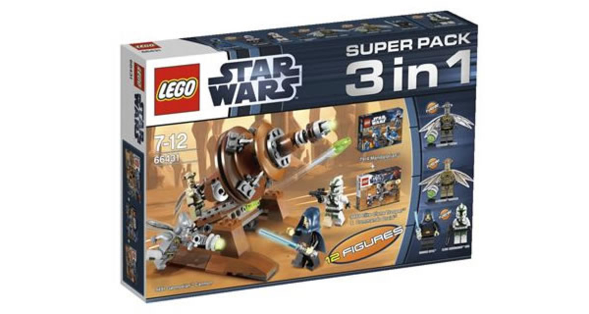 LEGO Star Wars Super Pack 3-in-1 66431 Box
