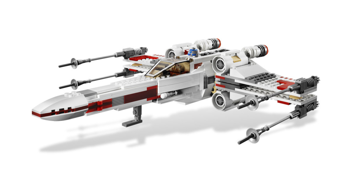 LEGO Star Wars X-Wing Starfighter 9493 Assembled
