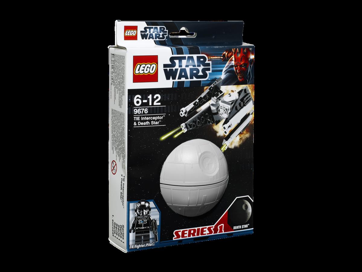 LEGO Star Wars TIE Interceptor & Death Star 9676 Box