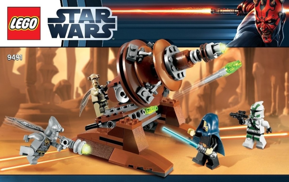 LEGO Star Wars Geonosian Cannon 9491 Box