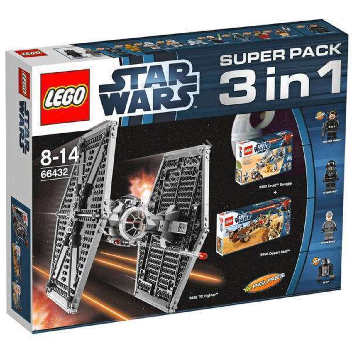 LEGO Star Wars Super Pack 3-in-1 66432 Box