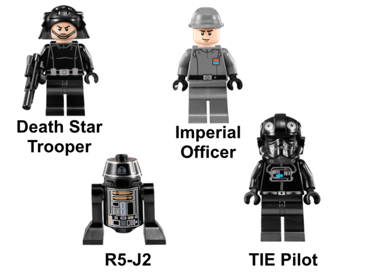 LEGO Star Wars TIE Fighter 9492 Minifigures