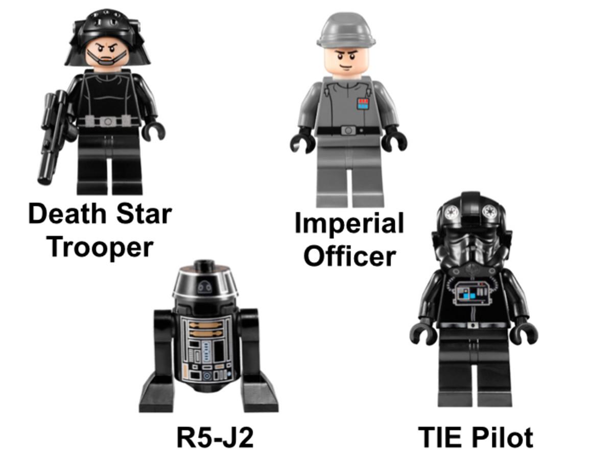 LEGO Star Wars TIE Fighter 9492 Minifigures