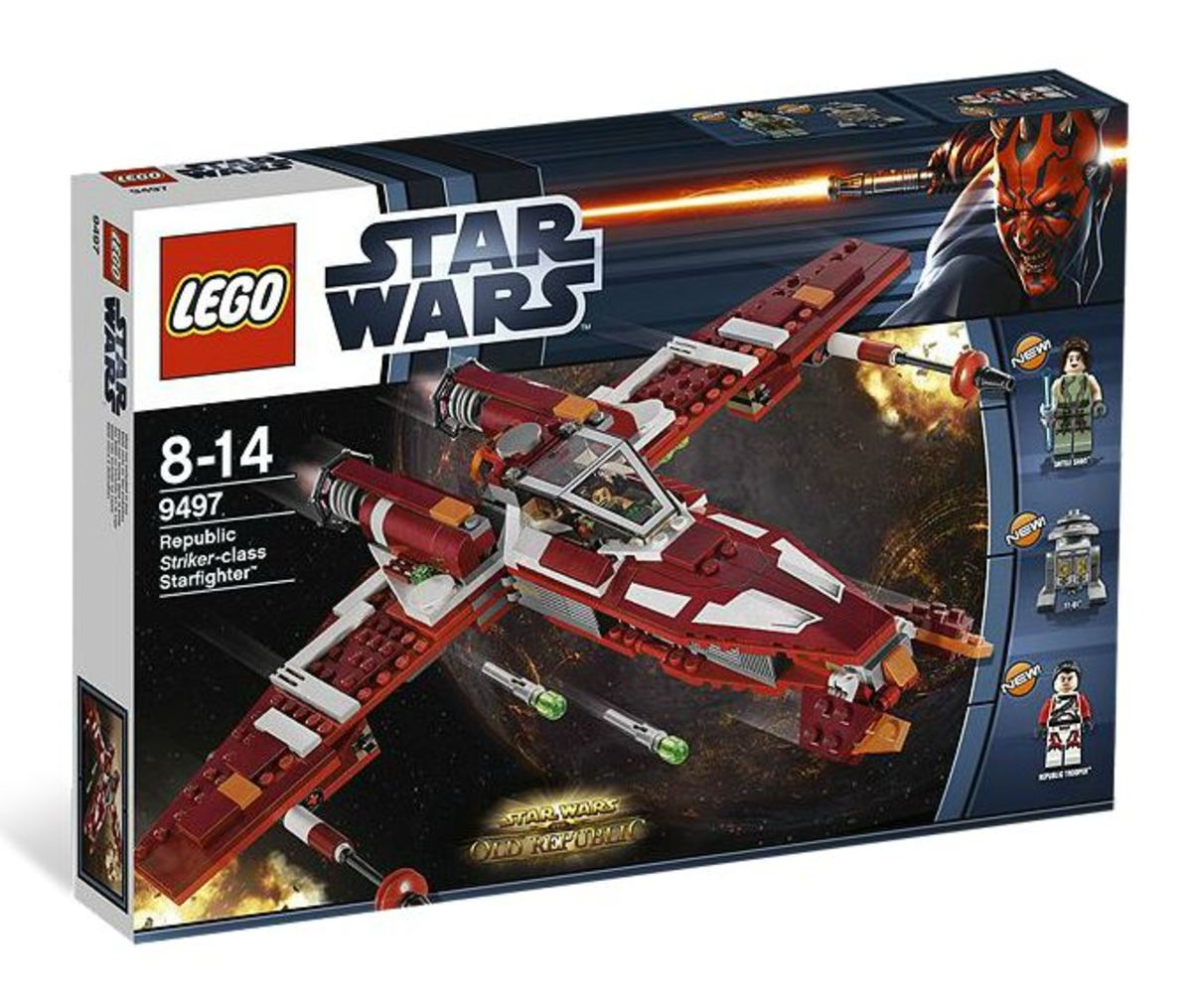 LEGO Star Wars Republic Striker Starfighter 9497 Box