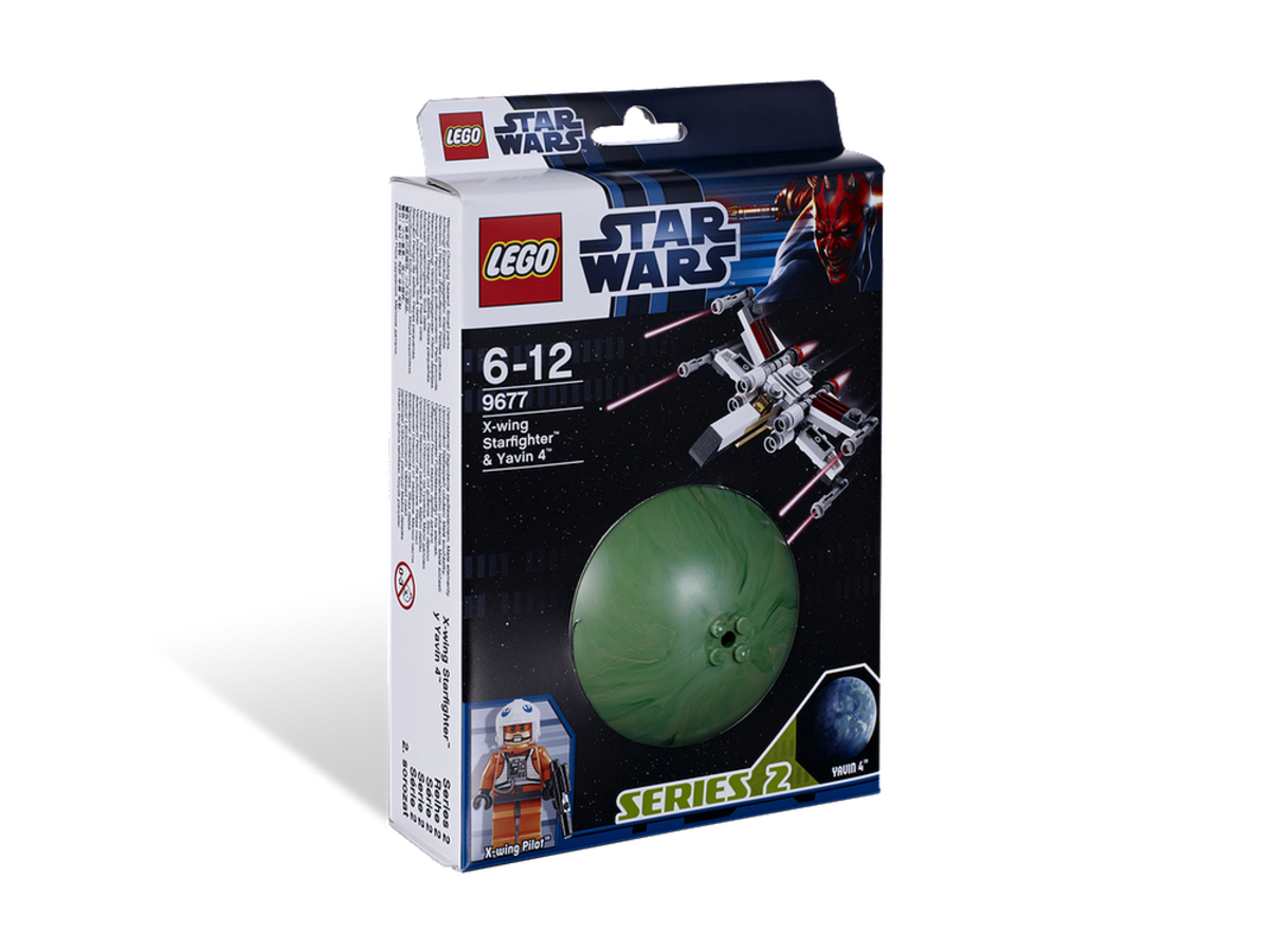 LEGO Star Wars X-Wing Starfighter & Yavin 9677 Box