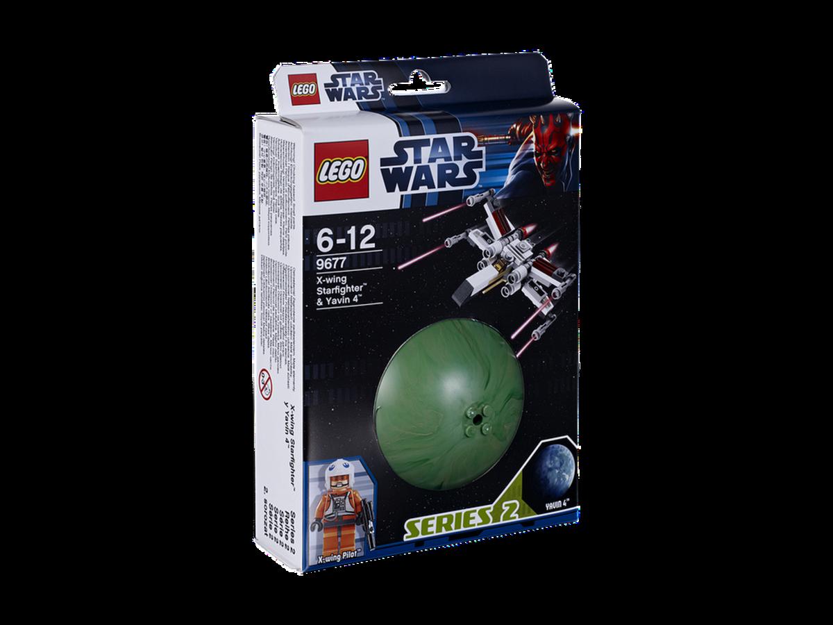 LEGO Star Wars X-Wing Starfighter & Yavin 9677 Box