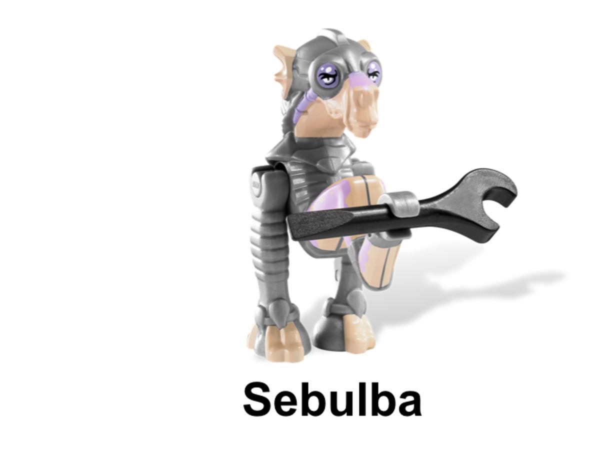 LEGO Star Wars Sebulba's Podracer & Tatooine 9675 Sebulba Minifigure