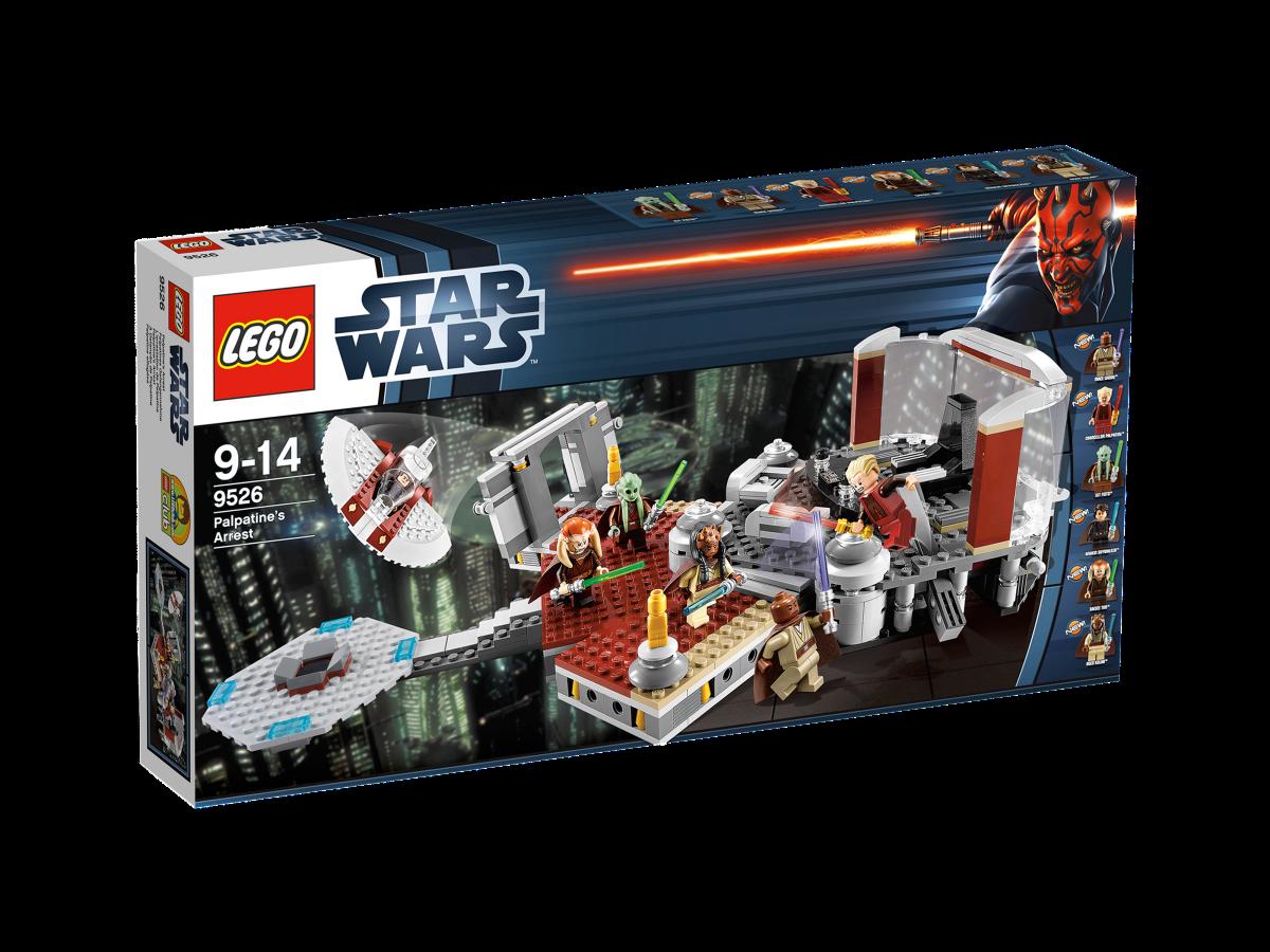 LEGO Star Wars Palpatine's Arrest 9526 Box