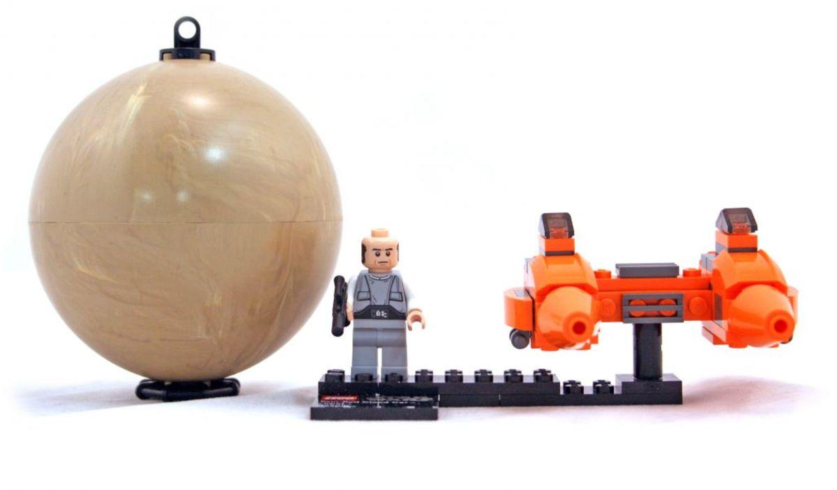 LEGO Star Wars Twin-Pod Cloud Car & Bespin 9678 Assembled