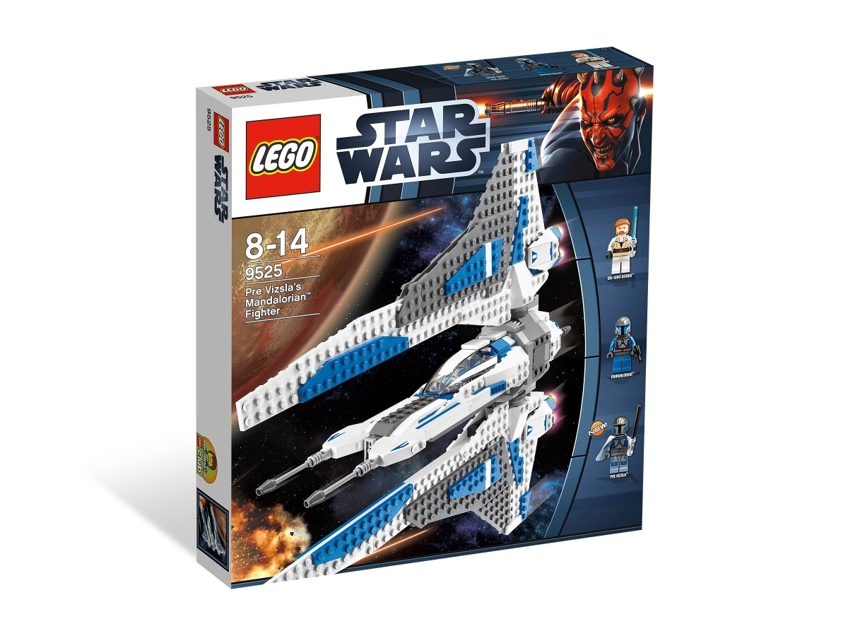 LEGO Star Wars Pre Vizsla's Mandalorian Fighter 9525 Box