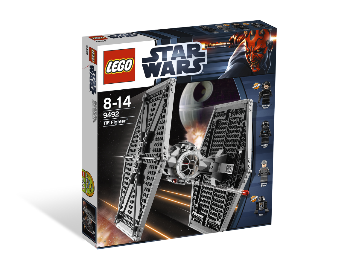 LEGO Star Wars TIE Fighter 9492 Box
