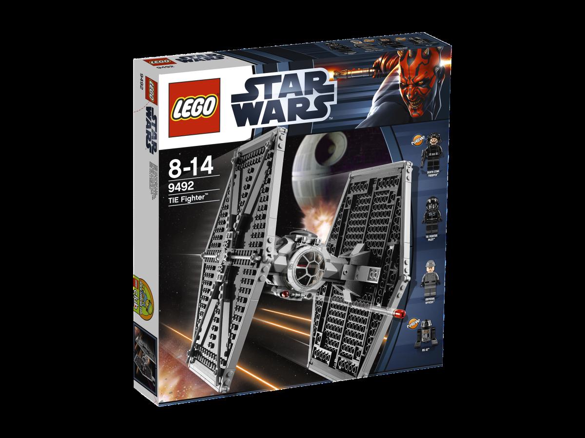 LEGO Star Wars TIE Fighter 9492 Box