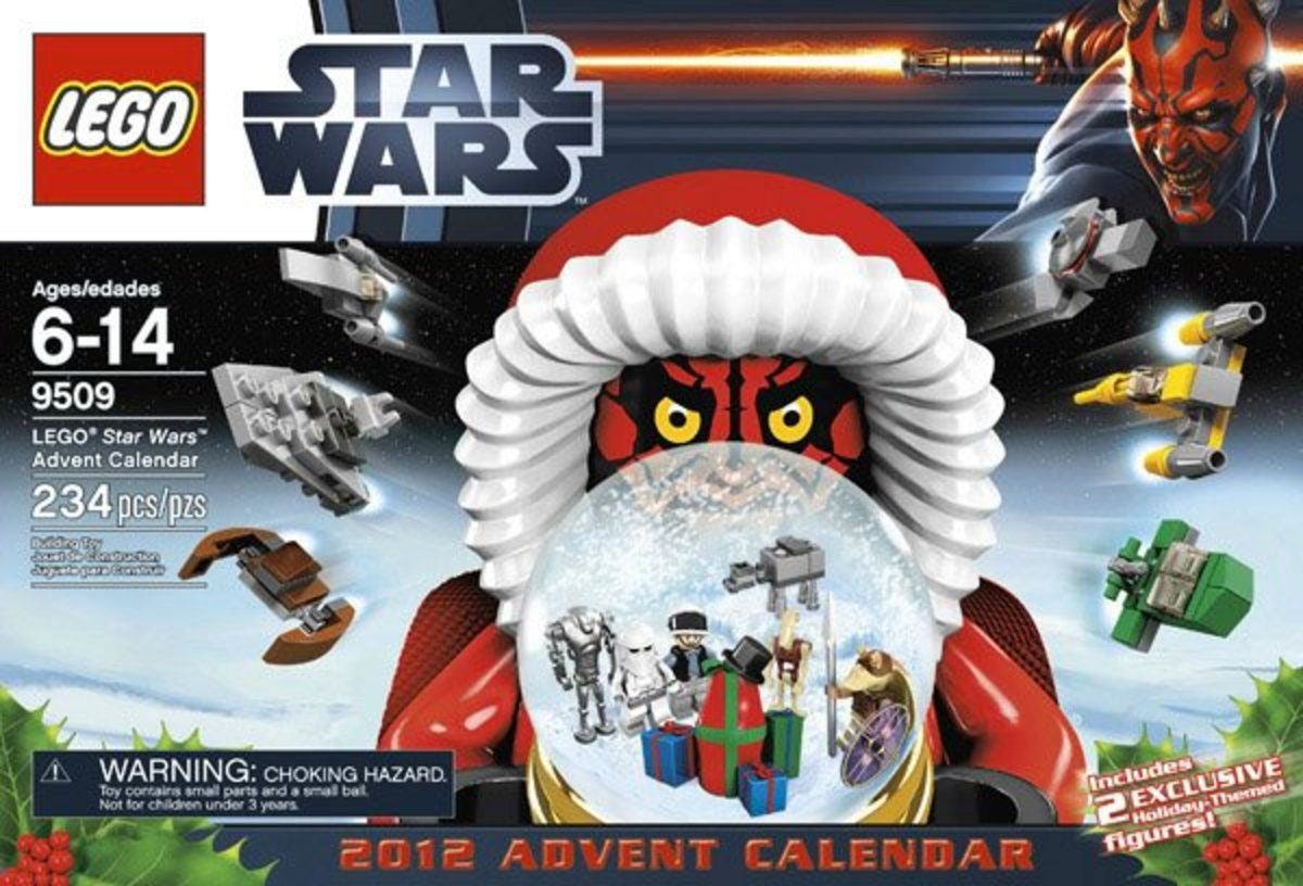 LEGO Star Wars Advent Calendar 9509 Box