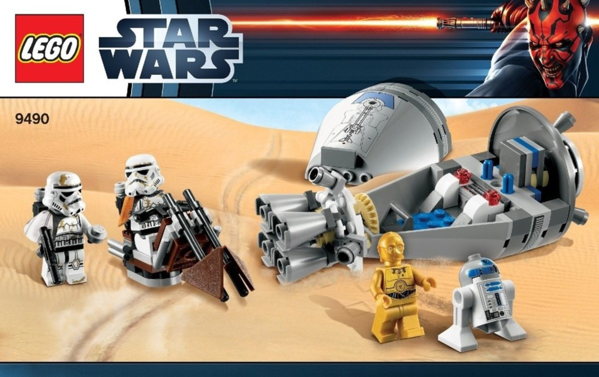 LEGO Star Wars Droid Escape 9490 Box