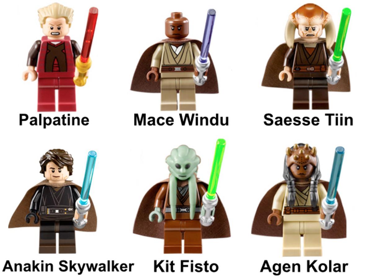 LEGO Star Wars Palpatine's Arrest 9526 Minifigures