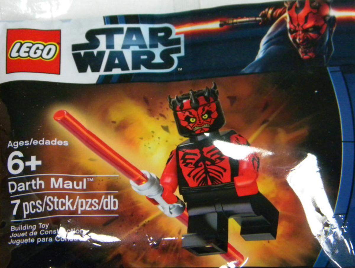 LEGO Darth Maul Minifigure 5005188 Bag