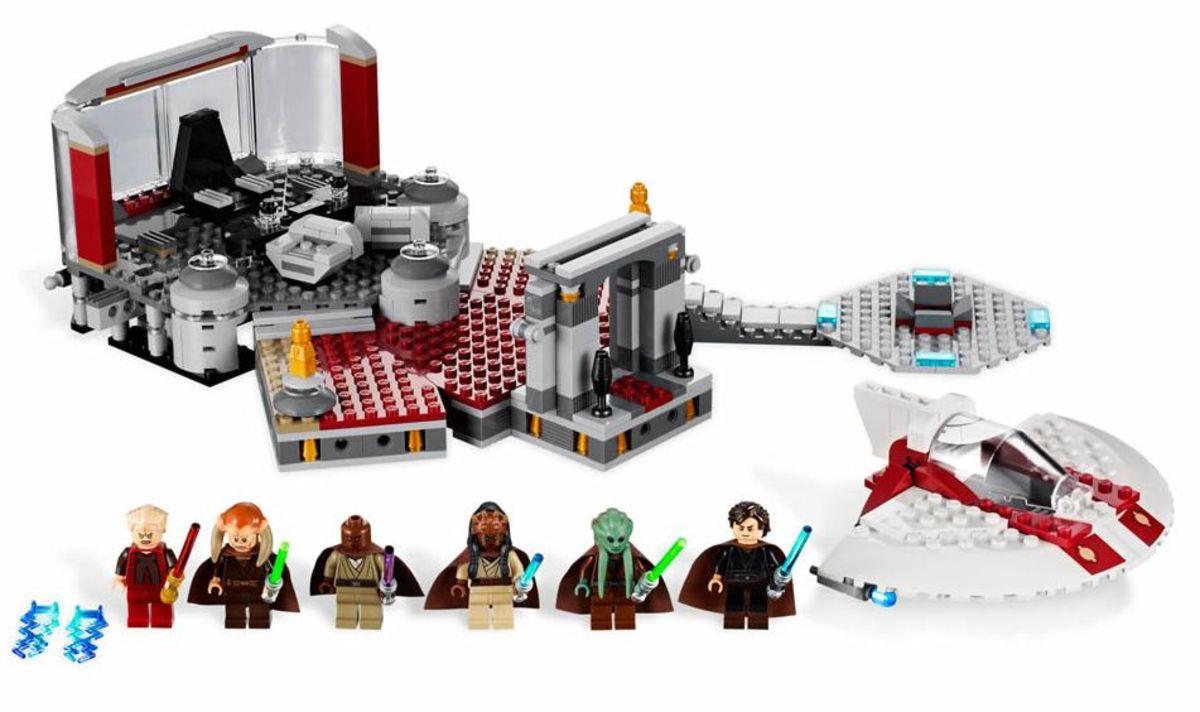 LEGO Star Wars Palpatine's Arrest 9526 Assembled