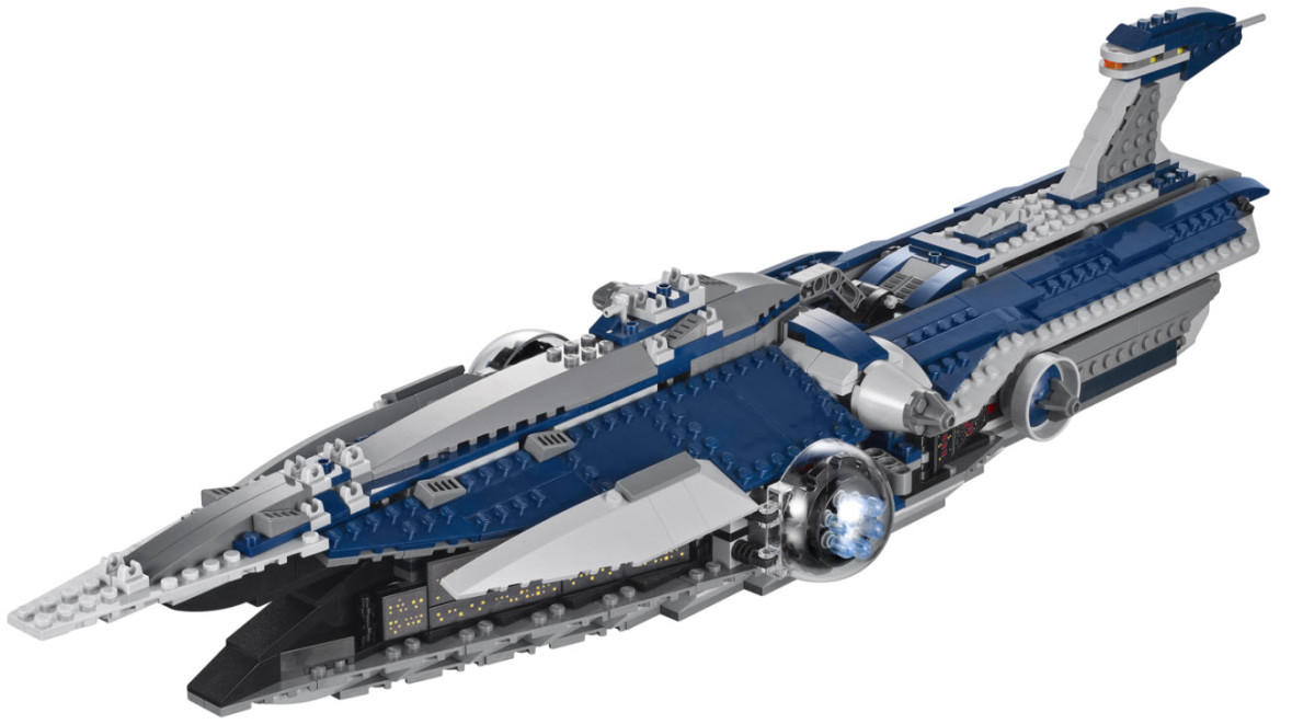 LEGO Star Wars Malevolence 9515 Assembled