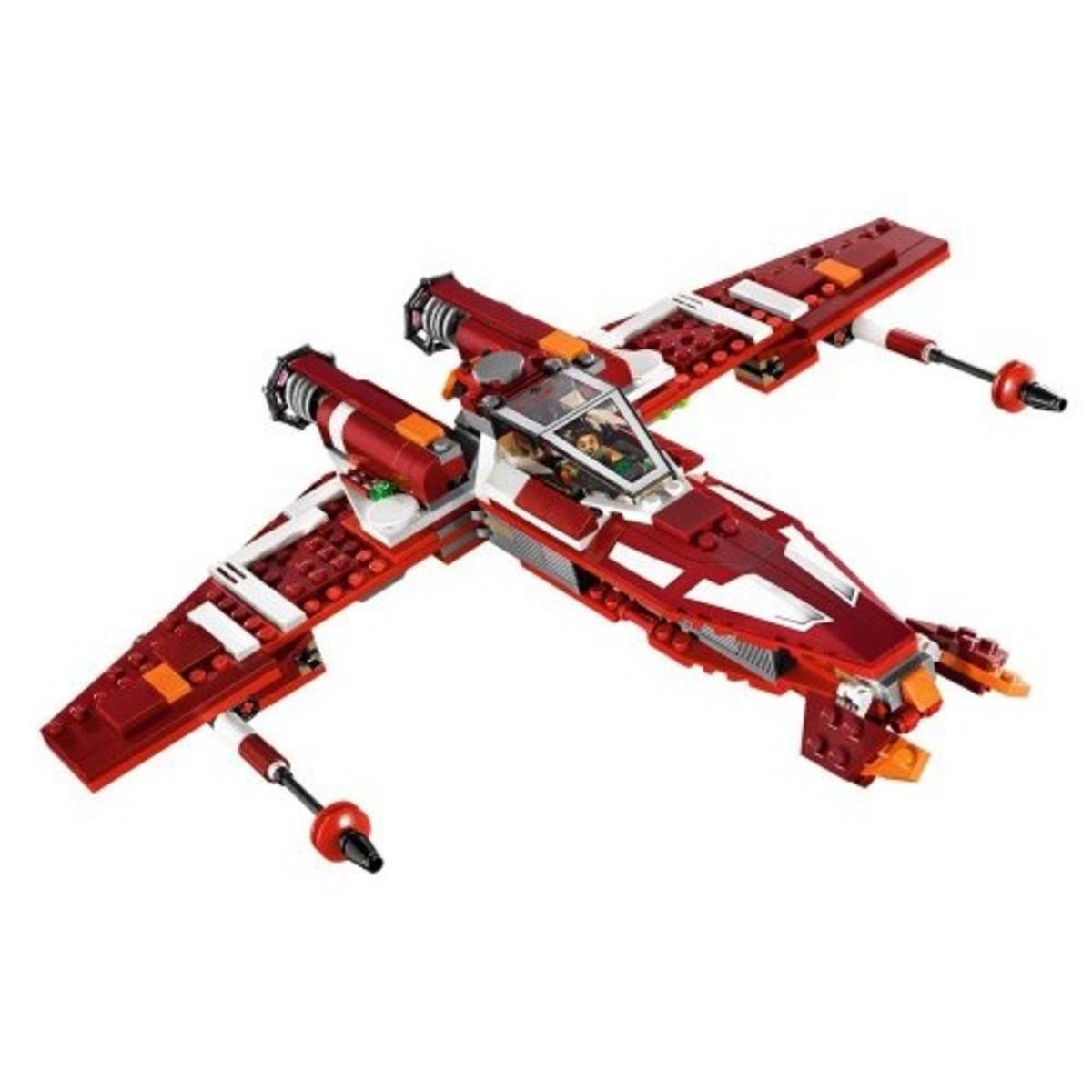LEGO Star Wars Republic Striker Starfighter 9497 Assembled