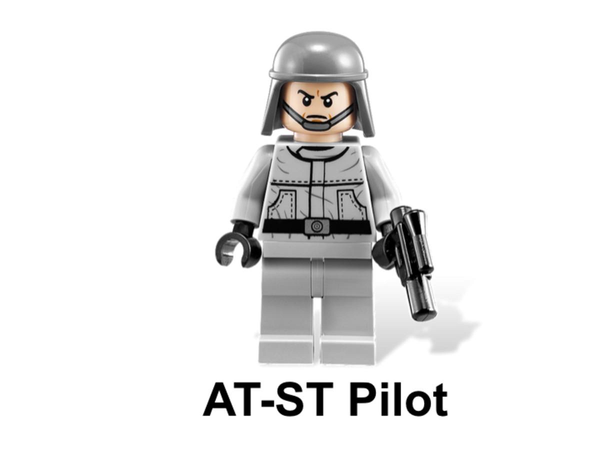 LEGO Star Wars AT-ST & Endor 9679 AT-ST Pilot Minifigure