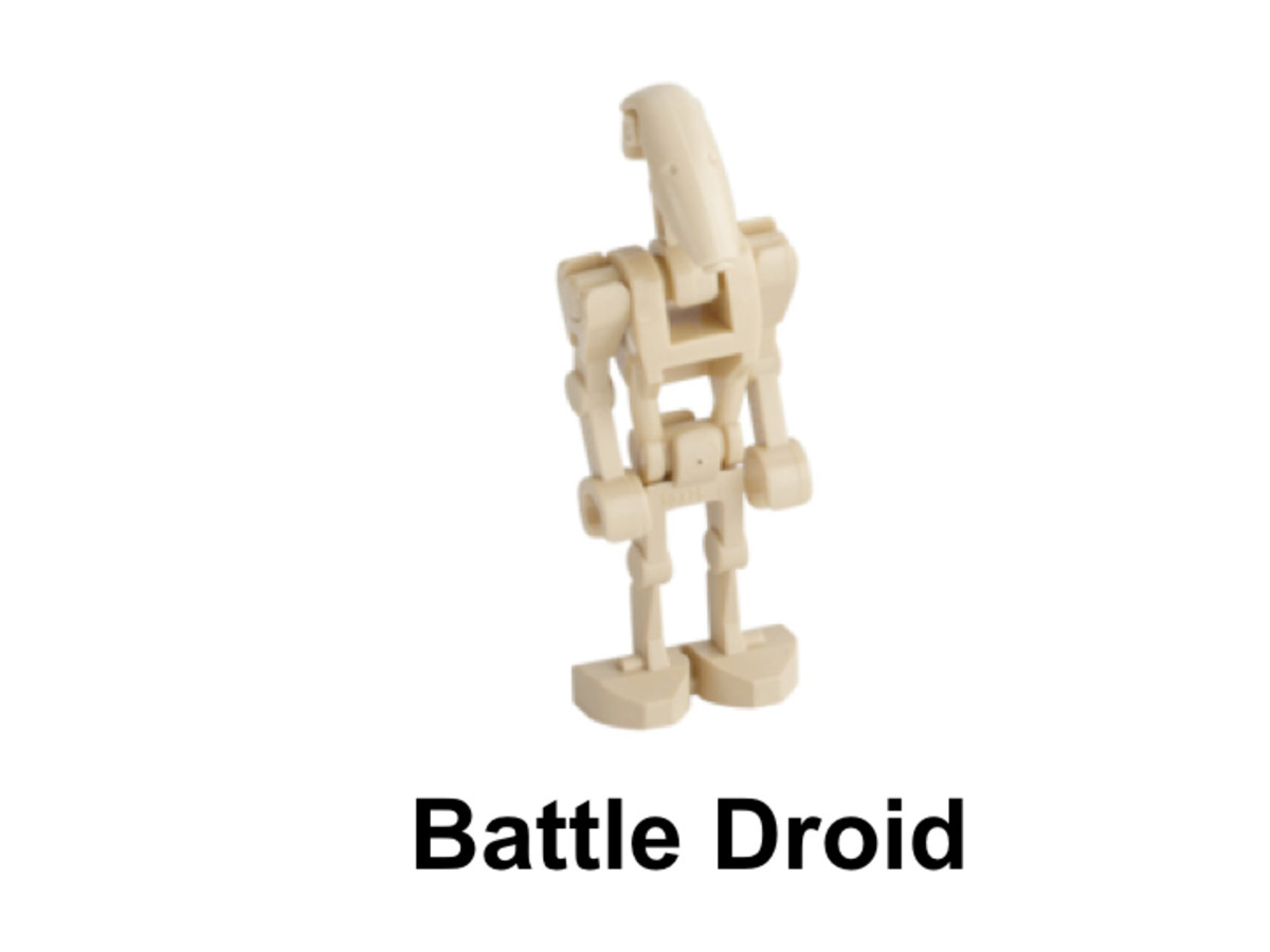 LEGO Star Wars STAP 30058 Battle Droid Minifigure
