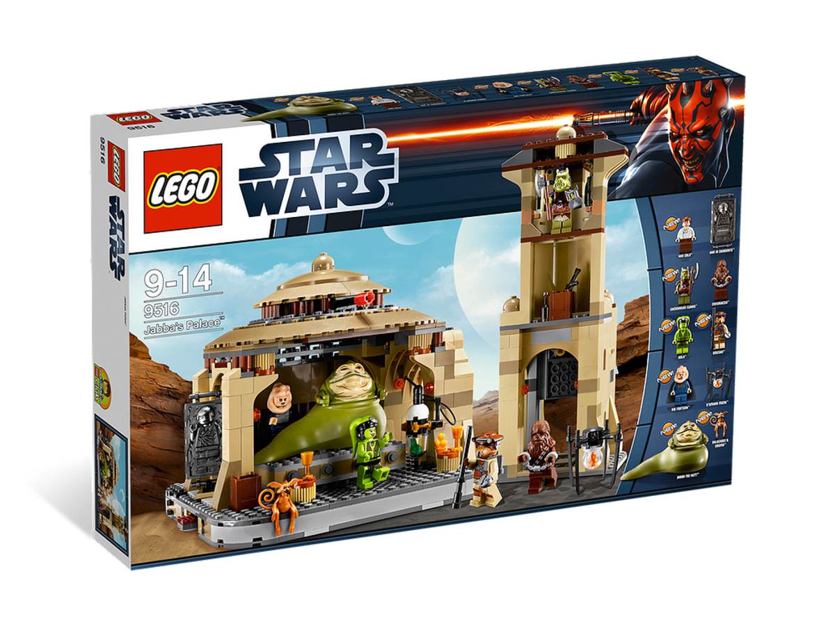 LEGO Star Wars Jabba's Palace 9516 Box