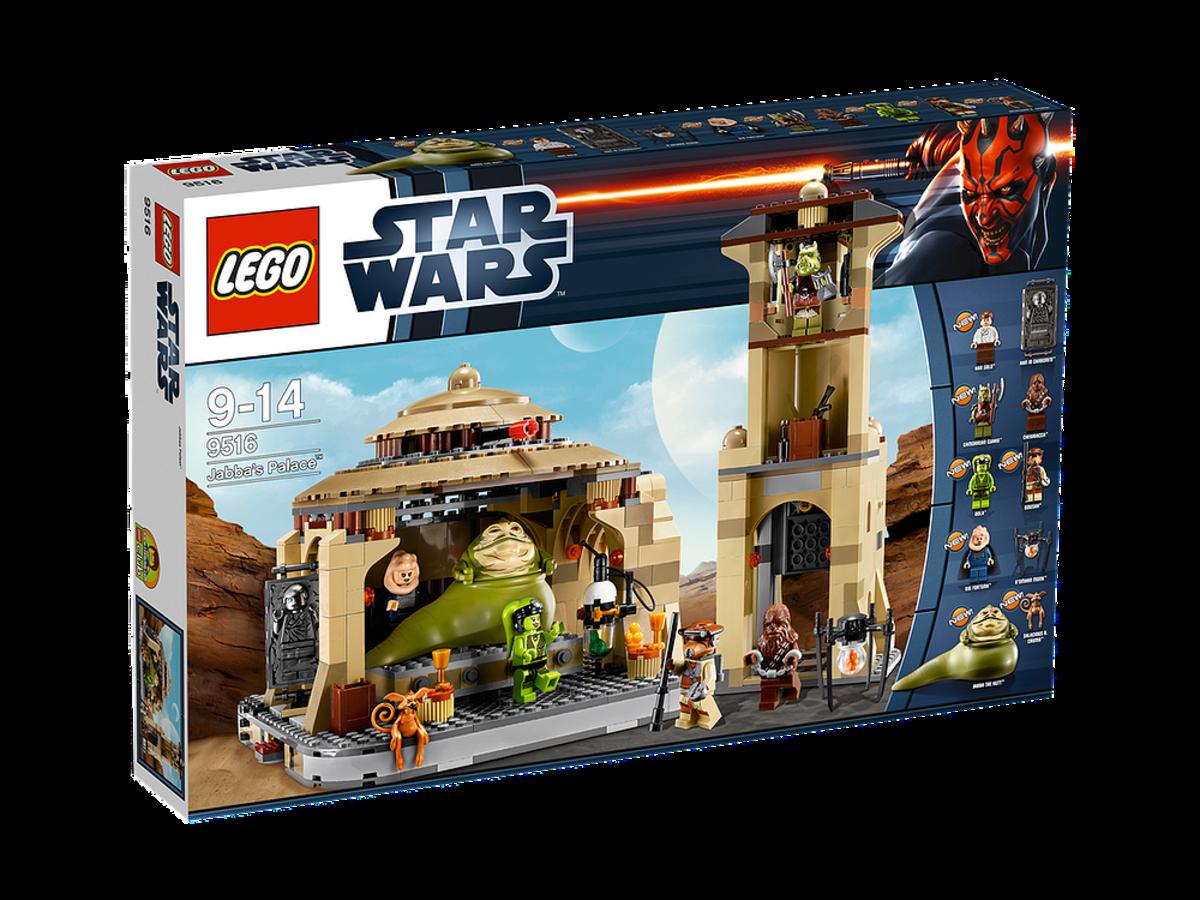 LEGO Star Wars Jabba's Palace 9516 Box