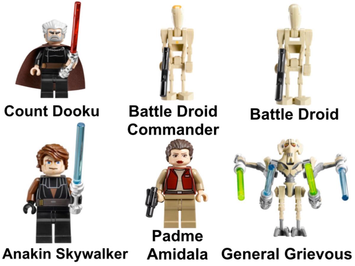 LEGO Star Wars Malevolence 9515 Minifigures