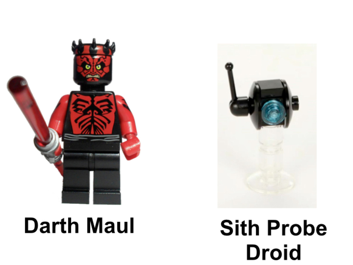 LEGO Star Wars Sith Infiltrator SDCC 2012 Minifigures