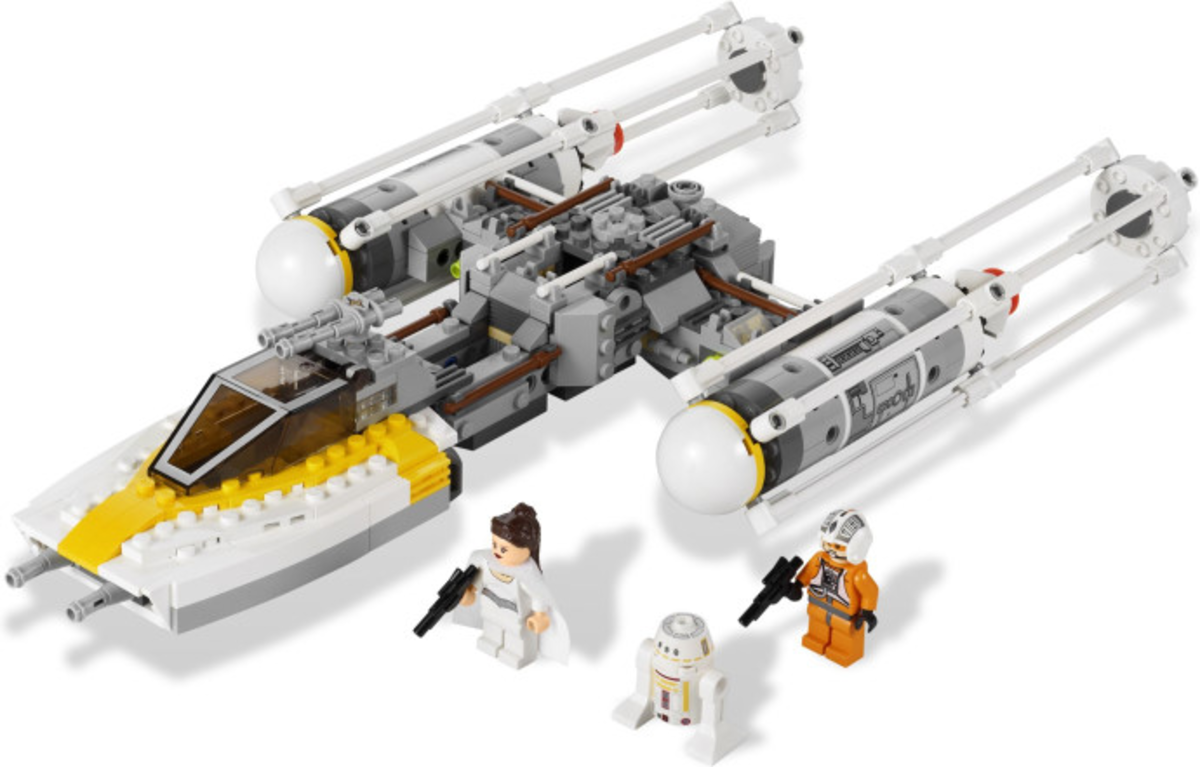 LEGO Star Wars Gold Leader's Y-Wing Starfighter 9495 Assembled