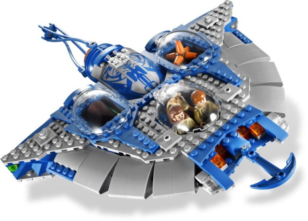 LEGO Star Wars Gungan Sub 9499 Assembled