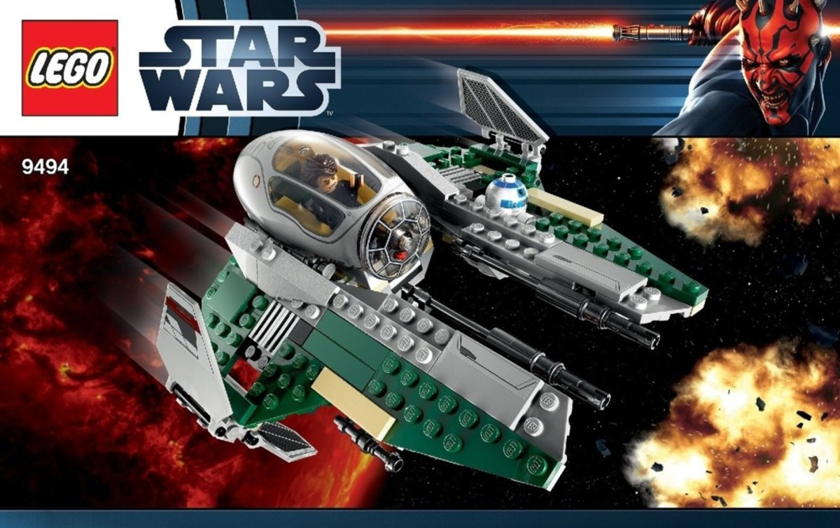 LEGO Star Wars Anakin's Jedi Interceptor 9494 Box
