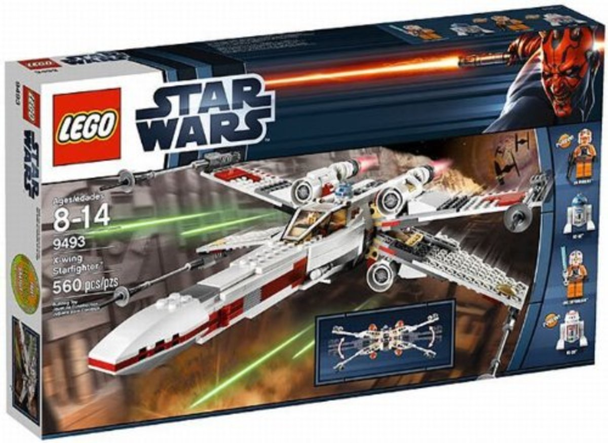 LEGO Star Wars X-Wing Starfighter 9493 Box
