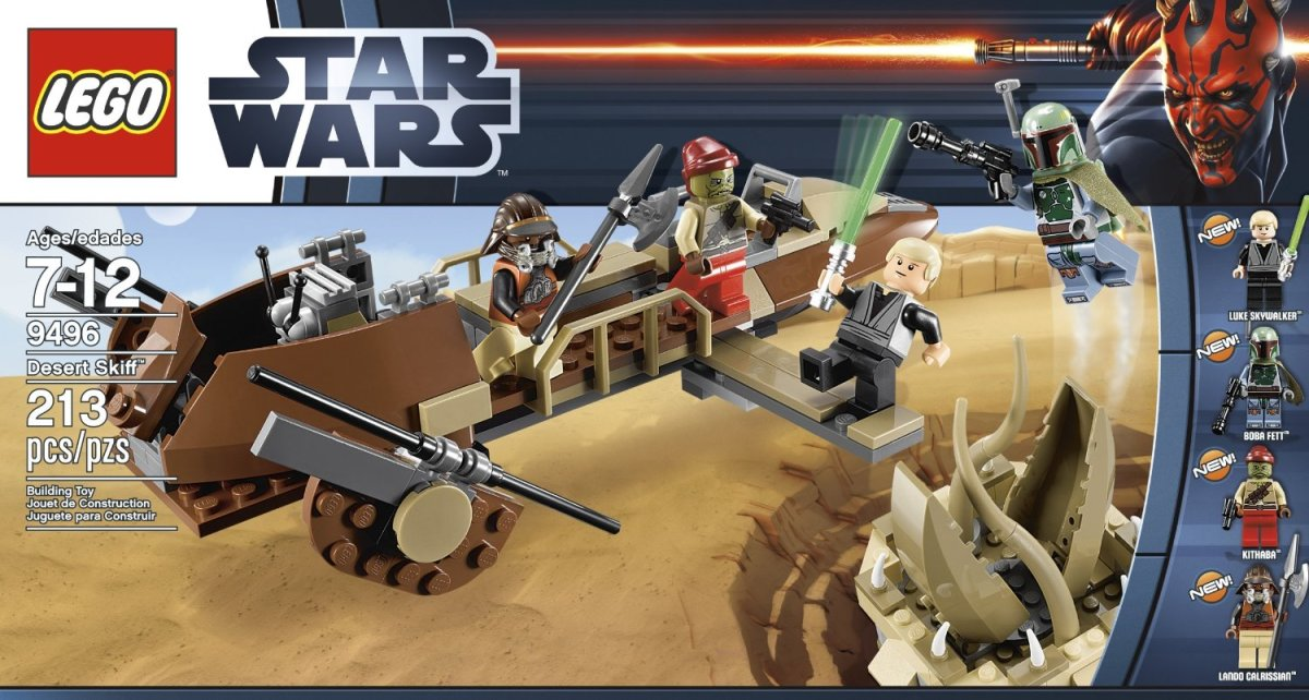 LEGO Star Wars Desert Skiff 9496 Box