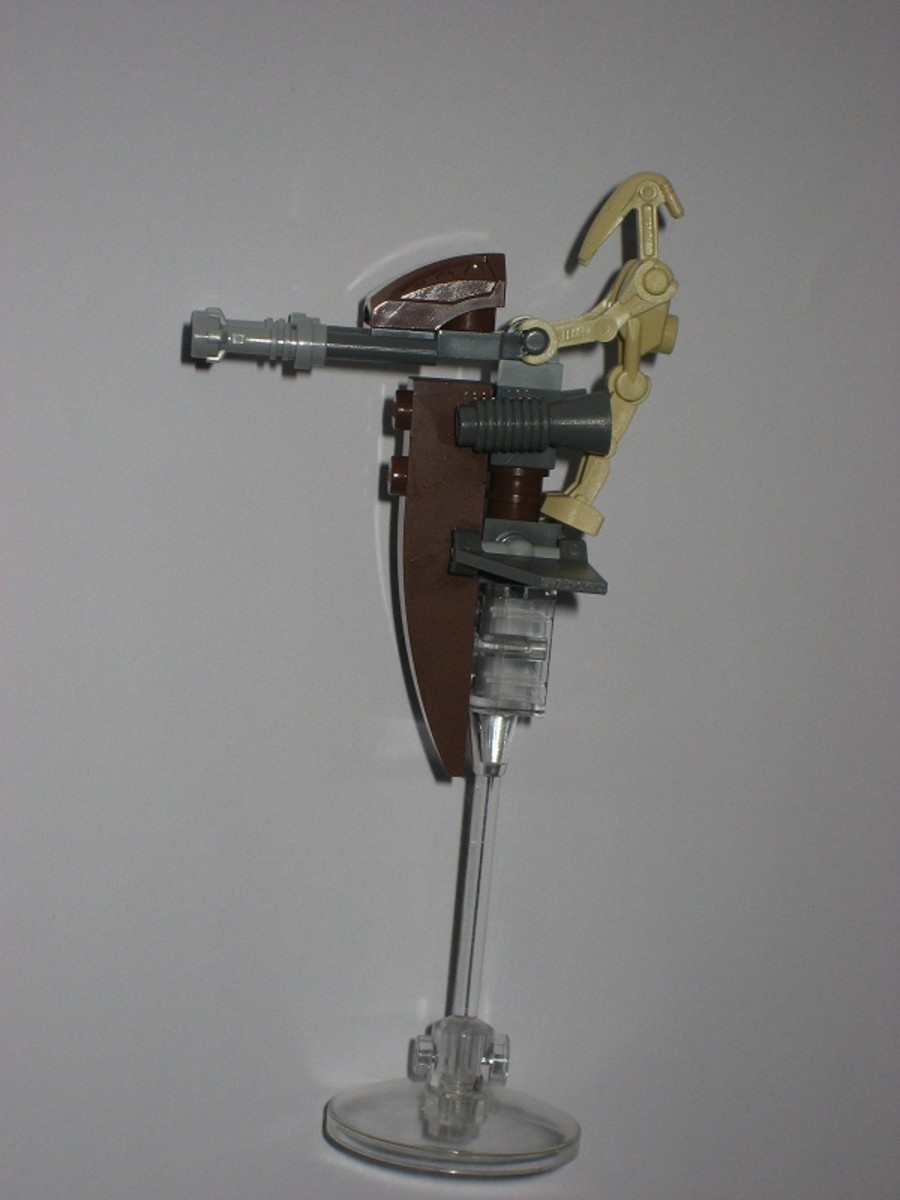 LEGO Star Wars STAP 30058 Assembled