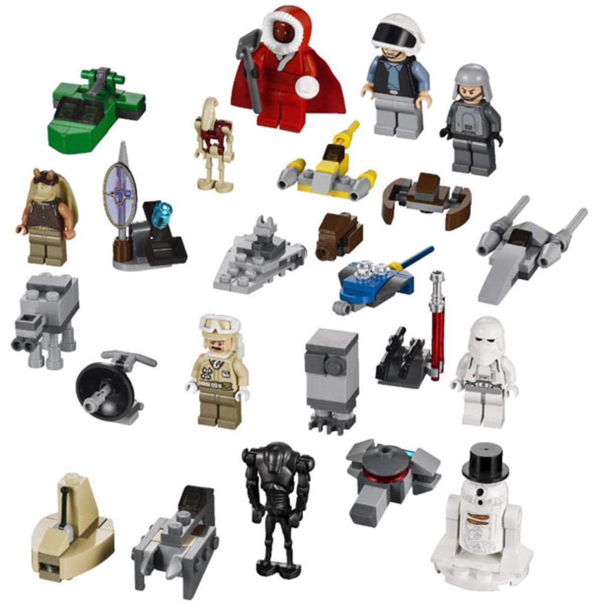 LEGO Star Wars Advent Calendar 9509 Sets