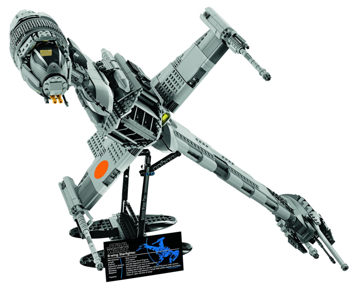 LEGO Star Wars B-Wing Starfighter 10227 Assembled