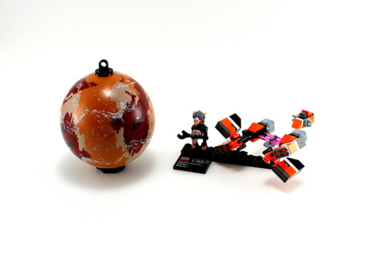 LEGO Star Wars Sebulba's Podracer & Tatooine 9675 Assembled