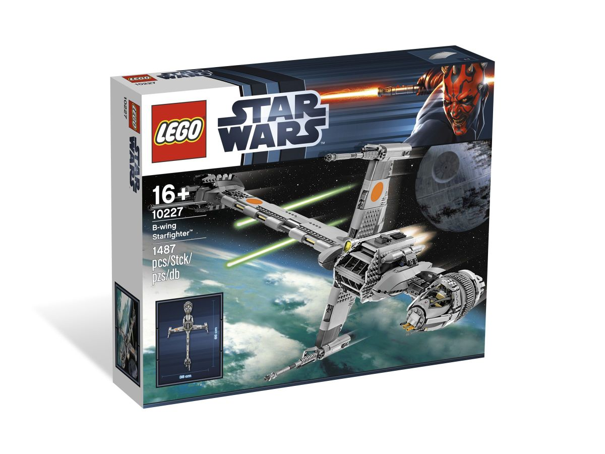 LEGO Star Wars B-Wing Starfighter 10227 Box
